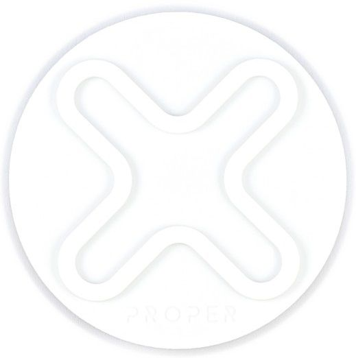 PROPER M Lock Wall Mount Disk, držák na zeď, iPhone, bílá