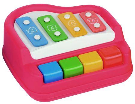 Let's play Piano/xylofon, červená