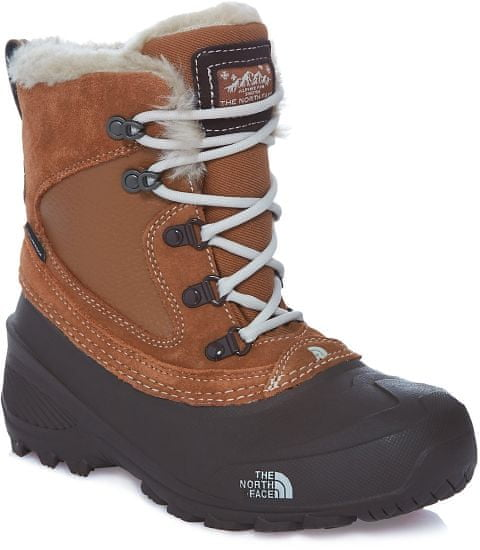 The North Face Y Shellista Extreme Dachshund brown/Moonlight ivory 2 (33.5)
