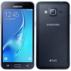 SAMSUNG Galaxy J3, J320, Dual SIM Mobiltelefon, Fekete
