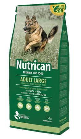 Nutrican hrana za pse Adult Large, 15 kg
