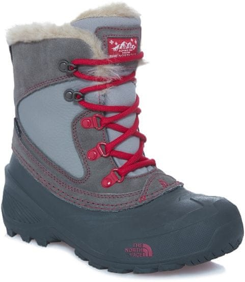 The North Face Y Shellista Extreme Darkgull grey/Cerise pink 5 (37)