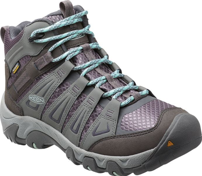 KEEN Oakridge Mid WP W gray/shark 37,5