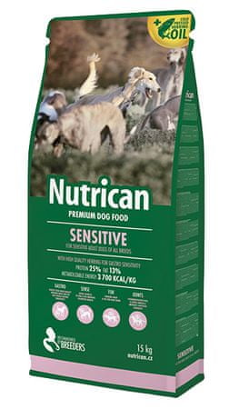 Nutrican Sensitive Kutyatáp, 15 kg