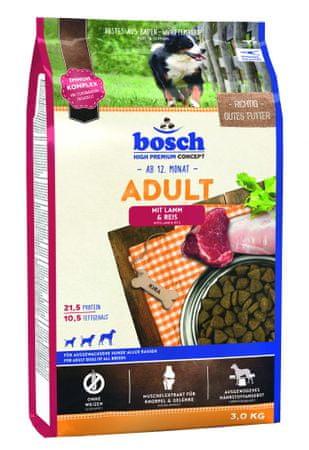 Bosch Adult Lamb & Rice kutyatáp, 3 kg