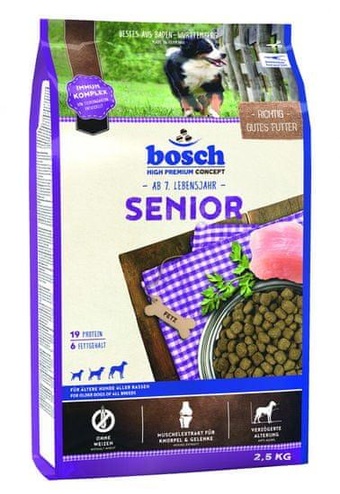 Bosch hrana za starejše pse Senior, 2,5 kg (nova receptura)