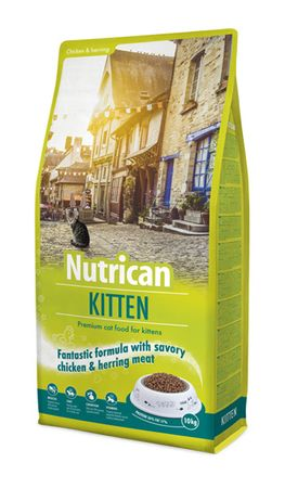 Nutrican Sucha karma dla kota Cat Kitten 10 kg