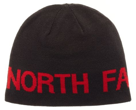 The North Face Reversible Tnf Banner Beanie Tnf Black/Tnf Red Os