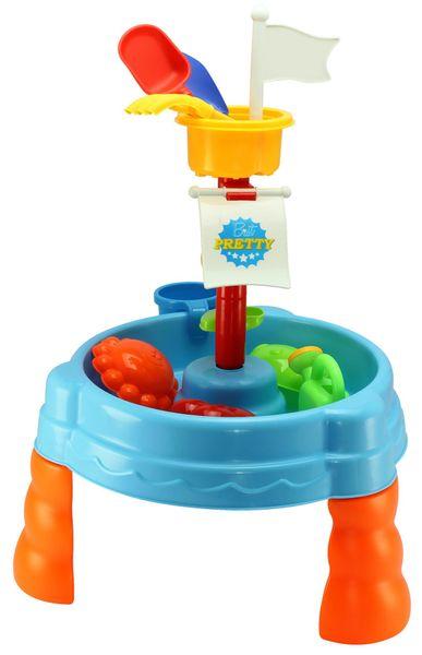 Eddy Toys Hrací stůl, 17 součástí