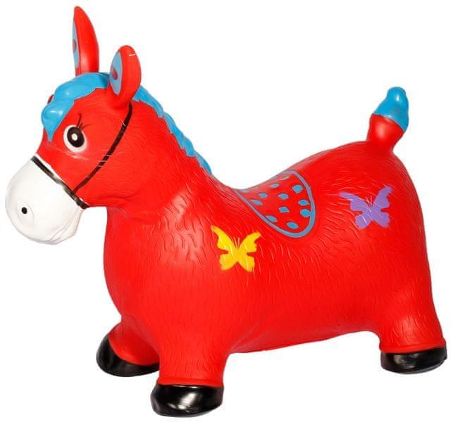 Eddy Toys Hopsací koník, červená