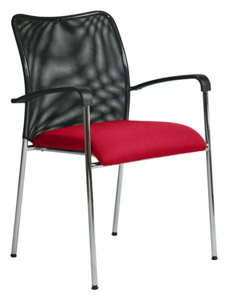 Konferenční židle Spider červená