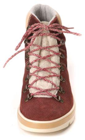 Napapijri dámská kotníčková obuv Lykke 40 vínová  16c84f9350