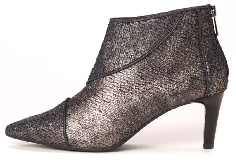 Högl dámská kotníčková obuv 41 šedá