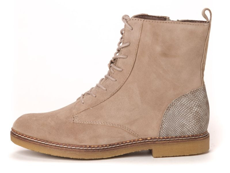 s.Oliver dámská kotníčková obuv 40 béžová