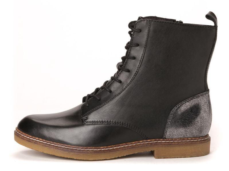 s.Oliver dámská kotníčková obuv 37 černá