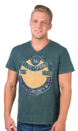 Pepe Jeans moška majica Owens M zelena