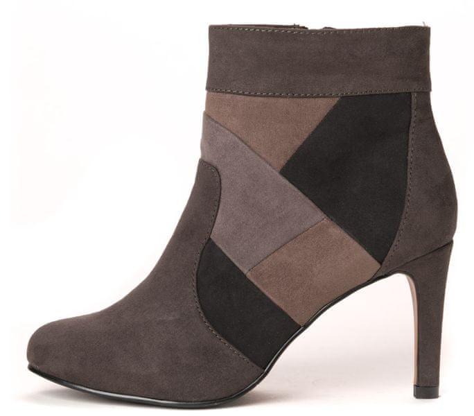 s.Oliver dámská kotníčková obuv 36 tmavě šedá
