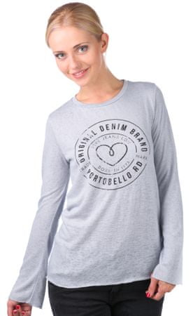 Pepe Jeans T-shirt damski Becca L szary