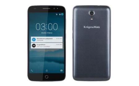Krüger&Matz smartfon LIVE 3 grafitowy