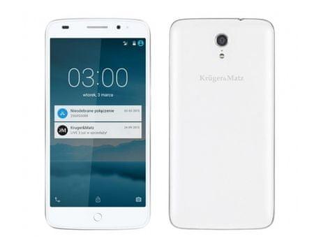Krüger&Matz smartfon LIVE 3 biały
