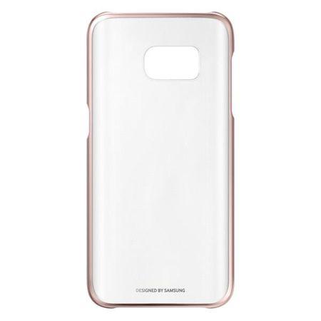 SAMSUNG Clear Cover Samsung Galaxy S7 Telefontok, Rózsaszín