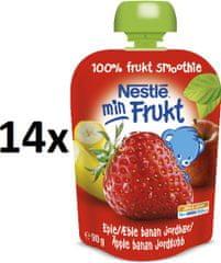 Nestlé Min Frukt Jahoda 14x90g