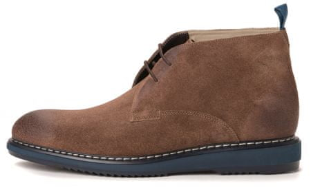 Clark's pánská kotníčková obuv Kenley Mid 44 hnědá
