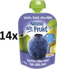 Nestlé Min Frukt Borůvka 14x90g