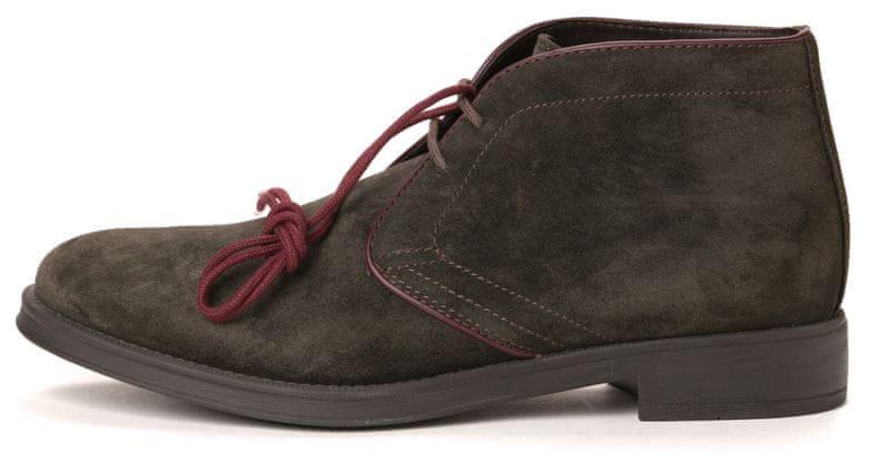 Geox pánská kotníčková obuv 44 hnědá