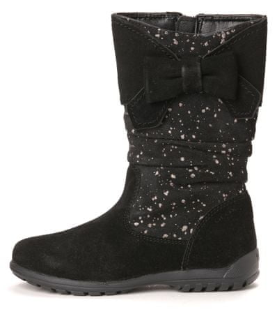 Geox dekliški škornji 28 črna