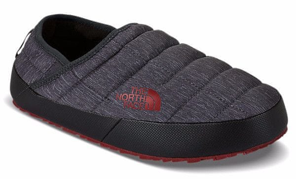 The North Face M Thermoball Traction Mule II Phantom grey heather print/Rudy red 12 (45.5)