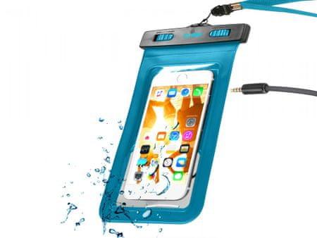 SBS torbica vodoodporna z jackom 3,5mm, modra