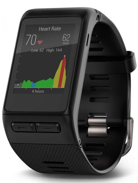Garmin chytré GPS hodinky, Vivoactive Optic XL, černá