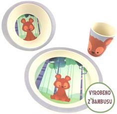 Yookidoo Pure Kids Sada nádobí - Medvěd