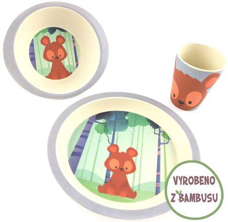 Yookidoo Yuunaa Sada nádobí - Medvěd