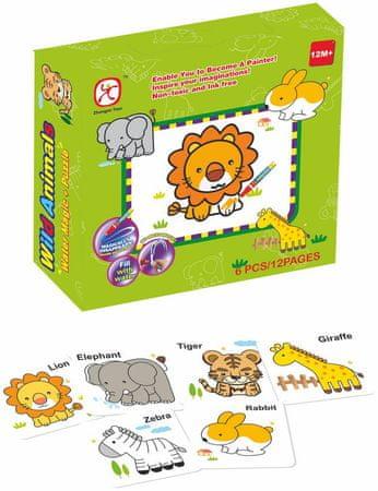 Mac Toys Puzzle zwierzątka, j. ang.