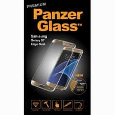 PanzerGlass premium zaštitno staklo Samsung Galaxy S7 Edge, zlatno