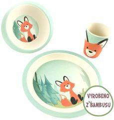 Yookidoo Pure Kids Sada nádobí - Liška