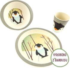 Yookidoo Pure Kids Sada nádobí - Tučňák