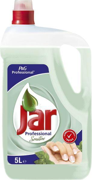 Jar Sensitive Tea Tree & Mint na mytí nádobí 5 l