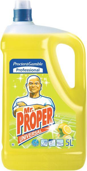 Mr. Proper tekutý čistič povrchů Lemon 5 l