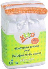 XKKO Skládané bavlněné pleny - Infant (6ks)