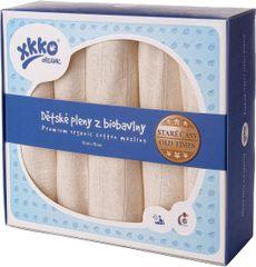 XKKO Pieluchy z BIO bawełny 70x70cm - 5szt.