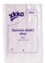 XKKO Bavlněné pleny 70x70 cm - 10 ks