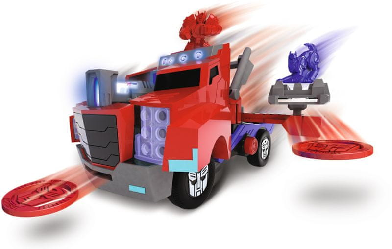 Dickie Transformers Optimus Prime Battle Truck
