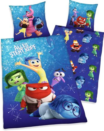 Herding posteljnina Disney Inside Out