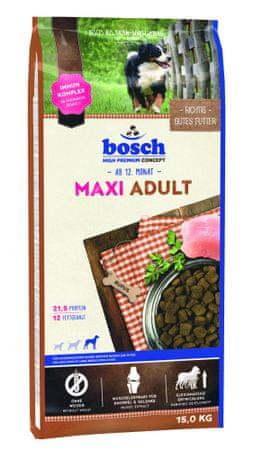Bosch hrana za odrasle pse velikih pasem Maxi Adult, 15 kg (nova receptura) - Odprta embalaža