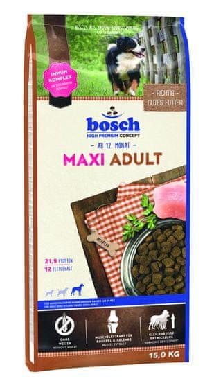 Bosch hrana za odrasle pse velikih pasem Maxi Adult, 15 kg (nova receptura)