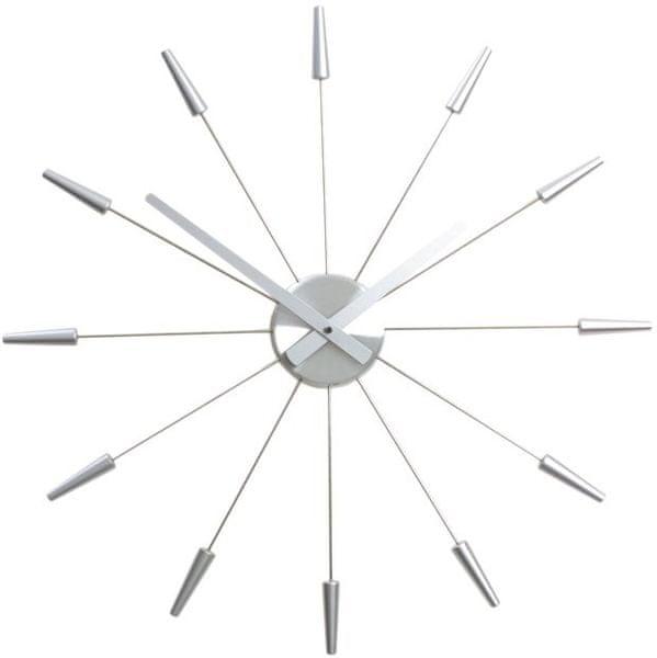 NEXTIME Plug Inn - stříbrná