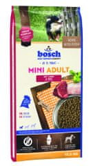 Bosch Mini Adult Lamb&Rice kutyatáp, 15 kg